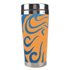 Lion Zodiac Sign Zodiac Moon Star Stainless Steel Travel Tumblers by Nexatart