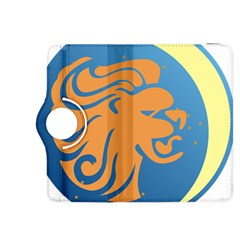Lion Zodiac Sign Zodiac Moon Star Kindle Fire Hdx 8 9  Flip 360 Case by Nexatart