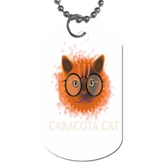 Cat Smart Design Pet Cute Animal Dog Tag (two Sides) by Nexatart