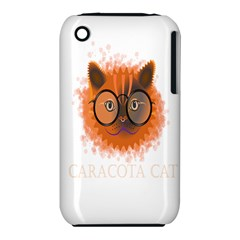 Cat Smart Design Pet Cute Animal Iphone 3s/3gs by Nexatart