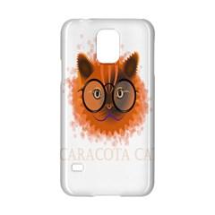 Cat Smart Design Pet Cute Animal Samsung Galaxy S5 Hardshell Case  by Nexatart