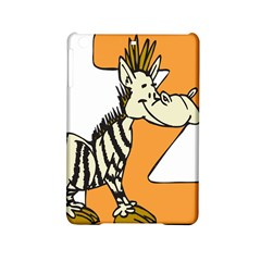 Zebra Animal Alphabet Z Wild Ipad Mini 2 Hardshell Cases by Nexatart