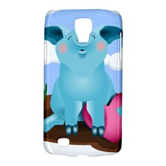 Pig Animal Love Galaxy S4 Active by Nexatart