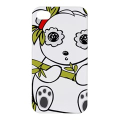 Panda China Chinese Furry Apple Iphone 4/4s Premium Hardshell Case by Nexatart