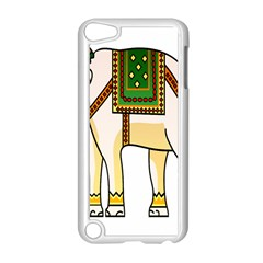 Elephant Indian Animal Design Apple Ipod Touch 5 Case (white) by Nexatart