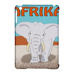 Africa Elephant Animals Animal Apple Ipad Mini Hardshell Case (compatible With Smart Cover) by Nexatart
