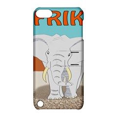 Africa Elephant Animals Animal Apple Ipod Touch 5 Hardshell Case With Stand by Nexatart