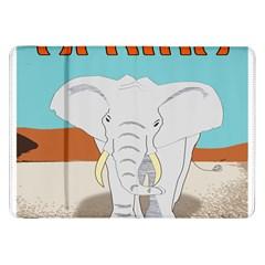 Africa Elephant Animals Animal Samsung Galaxy Tab 8 9  P7300 Flip Case by Nexatart