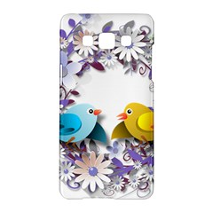 Flowers Floral Flowery Spring Samsung Galaxy A5 Hardshell Case  by Nexatart