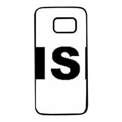 Irish Setter Love Samsung Galaxy S7 Black Seamless Case