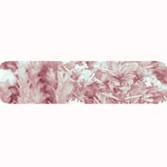 Pink Colored Flowers Large Bar Mats by dflcprints