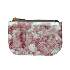 Pink Colored Flowers Mini Coin Purses by dflcprints