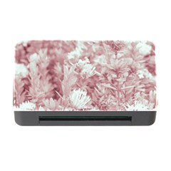 Pink Colored Flowers Memory Card Reader With Cf by dflcprints