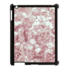 Pink Colored Flowers Apple Ipad 3/4 Case (black) by dflcprints