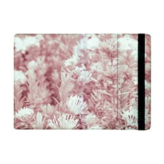 Pink Colored Flowers Ipad Mini 2 Flip Cases by dflcprints