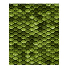 Green Mermaid Scales   Shower Curtain 60  X 72  (medium)  by paulaoliveiradesign
