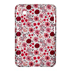 Red Floral Seamless Pattern Samsung Galaxy Tab 2 (7 ) P3100 Hardshell Case  by TastefulDesigns