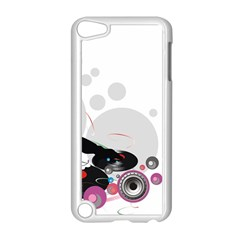 Dj Record Music Lovers 23605 3840x2400 Apple Ipod Touch 5 Case (white) by amphoto