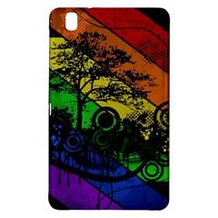 Trees Stripes Lines Rainbow  Samsung Galaxy Tab Pro 8 4 Hardshell Case by amphoto