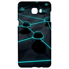 3d Balls Rendering Lines  Samsung C9 Pro Hardshell Case  by amphoto