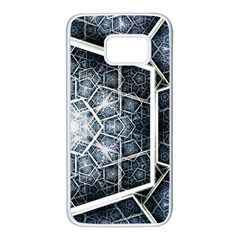 Form Glass Mosaic Pattern 47602 3840x2400 Samsung Galaxy S7 White Seamless Case by amphoto