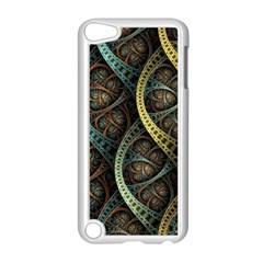 Line Semi Circle Background Patterns 82323 3840x2400 Apple Ipod Touch 5 Case (white) by amphoto