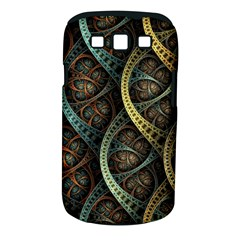 Line Semi Circle Background Patterns 82323 3840x2400 Samsung Galaxy S Iii Classic Hardshell Case (pc+silicone) by amphoto