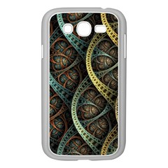 Line Semi Circle Background Patterns 82323 3840x2400 Samsung Galaxy Grand Duos I9082 Case (white) by amphoto