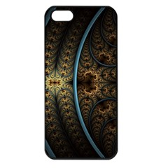 Lines Dark Patterns Background Spots 82314 3840x2400 Apple Iphone 5 Seamless Case (black) by amphoto