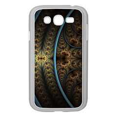 Lines Dark Patterns Background Spots 82314 3840x2400 Samsung Galaxy Grand Duos I9082 Case (white) by amphoto