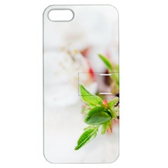 Fragility Flower Petals Tenderness Leaves  Apple Iphone 5 Hardshell Case With Stand by amphoto