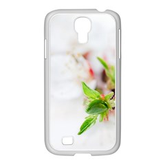 Fragility Flower Petals Tenderness Leaves  Samsung Galaxy S4 I9500/ I9505 Case (white) by amphoto