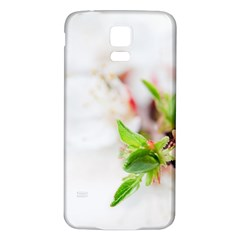 Fragility Flower Petals Tenderness Leaves  Samsung Galaxy S5 Back Case (white) by amphoto