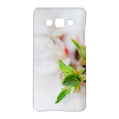 Fragility Flower Petals Tenderness Leaves  Samsung Galaxy A5 Hardshell Case  by amphoto