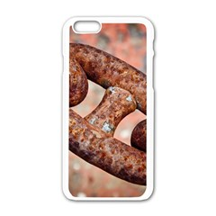 Chain Fixture Rust 106586 3840x2400 Apple Iphone 6/6s White Enamel Case by amphoto