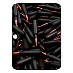 Bullets Ammunition Guns  Samsung Galaxy Tab 3 (10 1 ) P5200 Hardshell Case  by amphoto