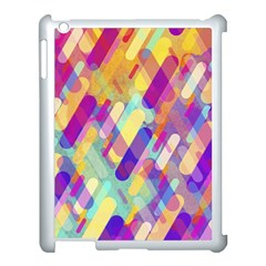 Colorful Abstract Background Apple Ipad 3/4 Case (white) by TastefulDesigns