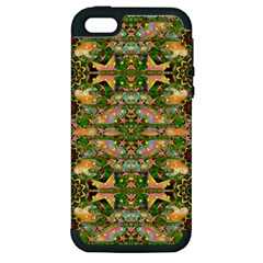 Star Shines On Earth For Peace In Colors Apple Iphone 5 Hardshell Case (pc+silicone) by pepitasart
