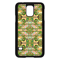 Star Shines On Earth For Peace In Colors Samsung Galaxy S5 Case (black) by pepitasart