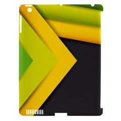 Abstraction Lines Stripes  Apple Ipad 3/4 Hardshell Case (compatible With Smart Cover) by amphoto
