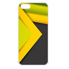 Abstraction Lines Stripes  Apple Iphone 5 Seamless Case (white) by amphoto