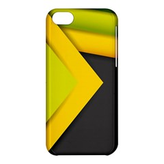 Abstraction Lines Stripes  Apple Iphone 5c Hardshell Case by amphoto