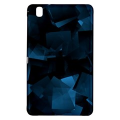 Abstraction Shapes Dark Background  Samsung Galaxy Tab Pro 8 4 Hardshell Case by amphoto