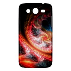 Abstraction Flowering Lines Fractal  Samsung Galaxy Mega 5 8 I9152 Hardshell Case  by amphoto