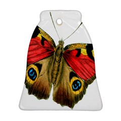 Butterfly Bright Vintage Drawing Ornament (bell) by Nexatart