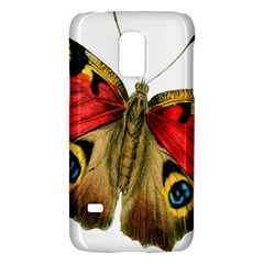 Butterfly Bright Vintage Drawing Galaxy S5 Mini by Nexatart