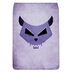 Purple Evil Cat Skull Flap Covers (l)  by CreaturesStore