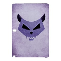Purple Evil Cat Skull Samsung Galaxy Tab Pro 10 1 Hardshell Case by CreaturesStore
