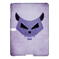 Purple Evil Cat Skull Samsung Galaxy Tab S (10 5 ) Hardshell Case  by CreaturesStore