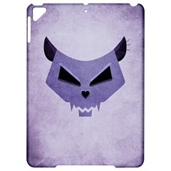 Purple Evil Cat Skull Apple Ipad Pro 9 7   Hardshell Case by CreaturesStore